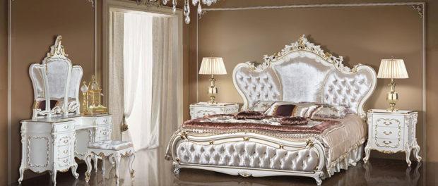 Мебель для спальни белая