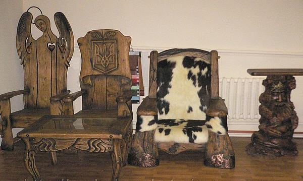 Мебель эксклюзивной ручной работы