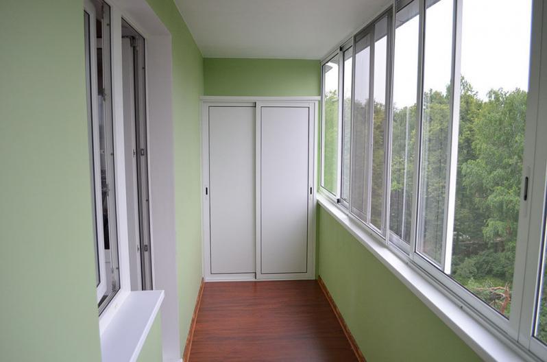 Мебель на балкон из гипсокартона