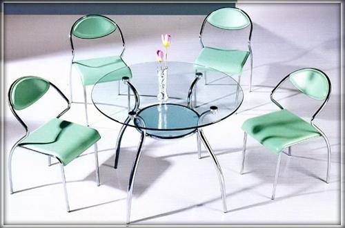 Мебель на основе стекла