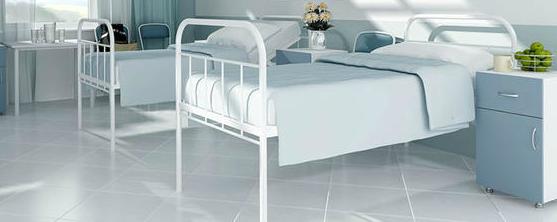 Металлическая мебель в гостинице