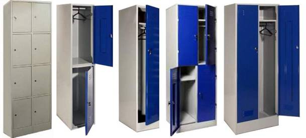 Металлические шкафчики