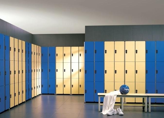 Металлические шкафы для фитнеса