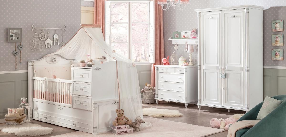 Младенческая корпусная мебель