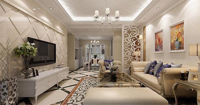 Модель стиля неоклассика для гостиной