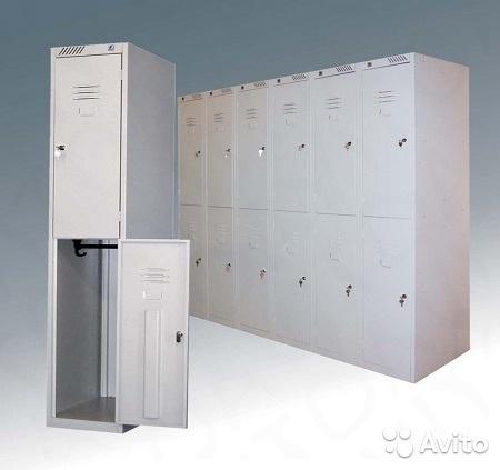 Модульные металлические шкафы для одежды