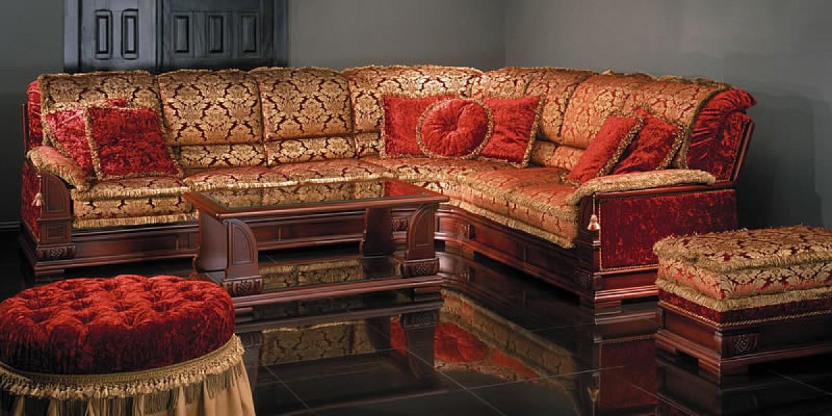 Мягкая мебель в восточном стиле