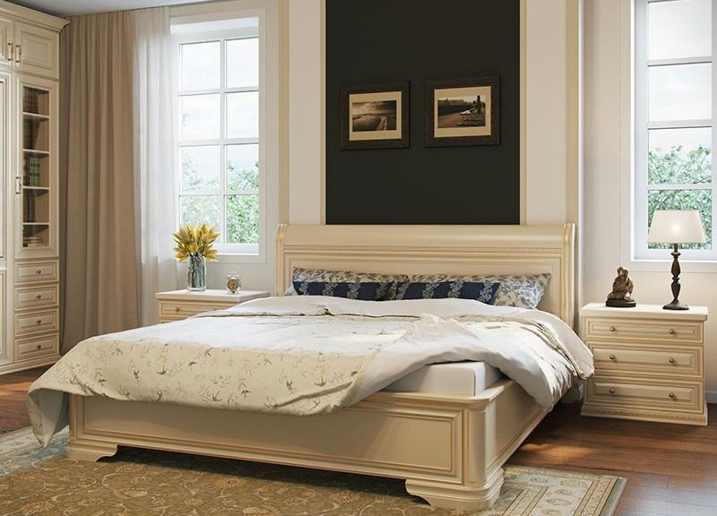 Мягкая удобная кровать