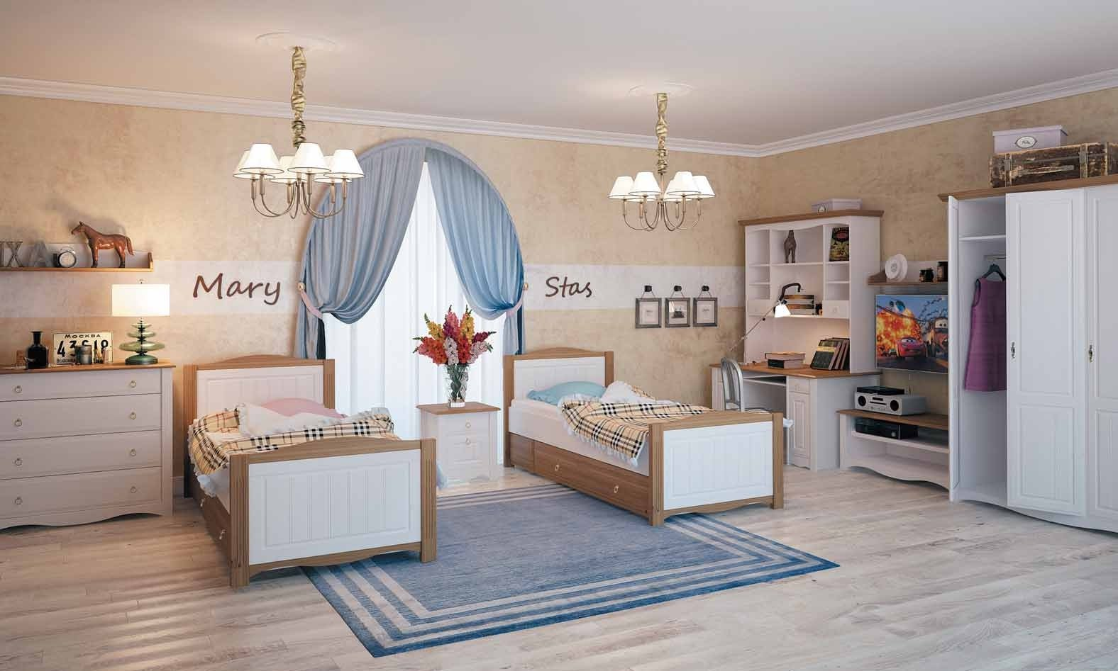 Набор мебели для двух детей
