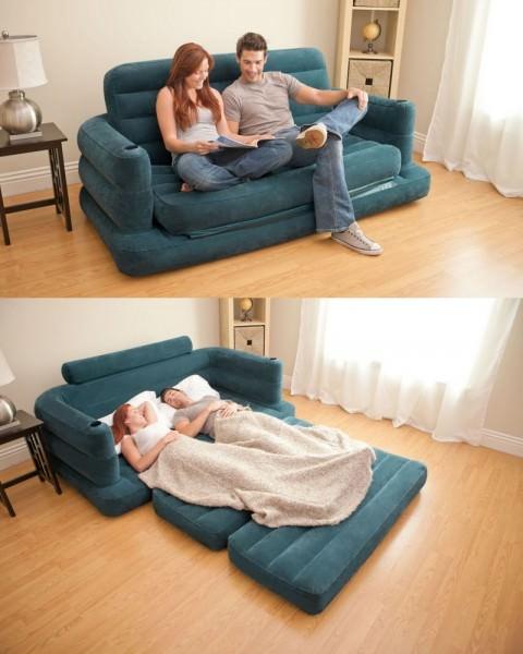 Надувная кровать раскладывающаяся
