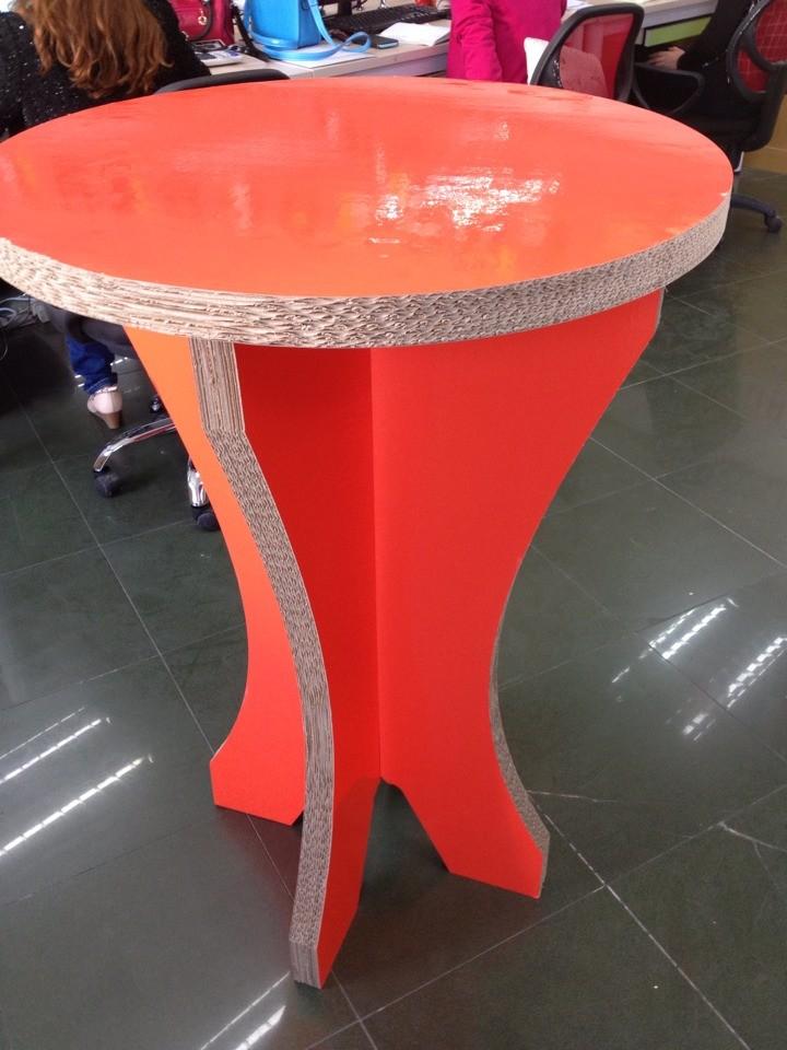 Наращиваемые детали картонной мебели
