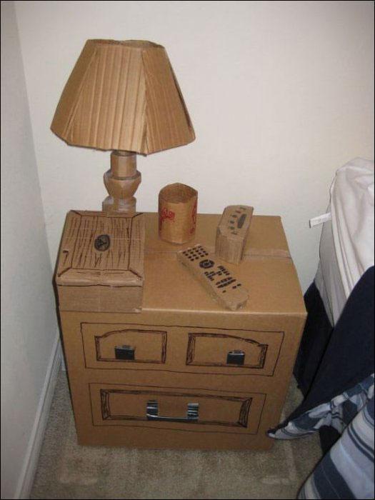 Необычная красивая тумба для спальни