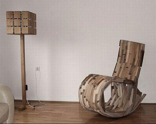 Необычное кресло-качалка