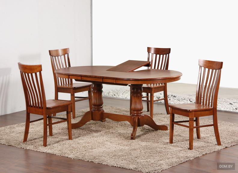 Обеденная зона с практичным столом