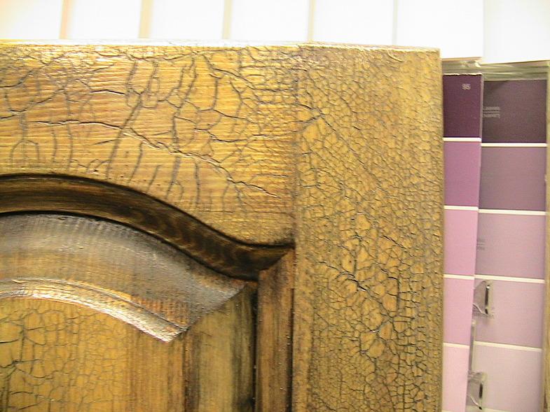 Обработка двери мебели глизалью