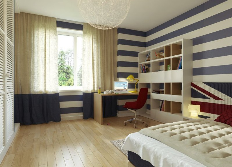 Обустройство небольшой комнаты для ребенка