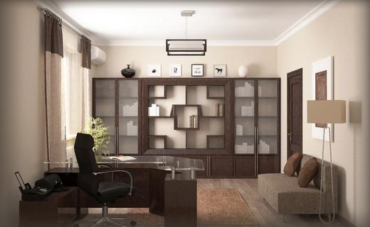Обустройство офиса в доме