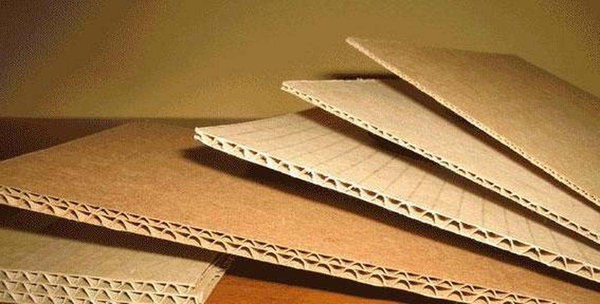 Однослойный картон
