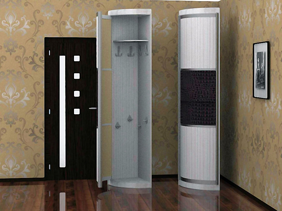 Одностворчатые шкафы