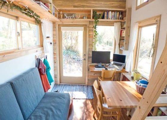 Оформление небольшой комнаты в загородном доме