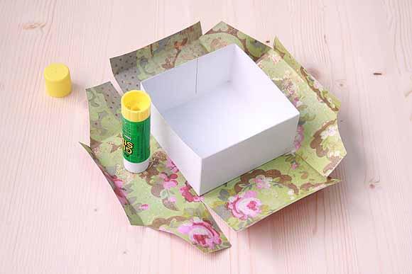 Оклейка картона крафт бумагой