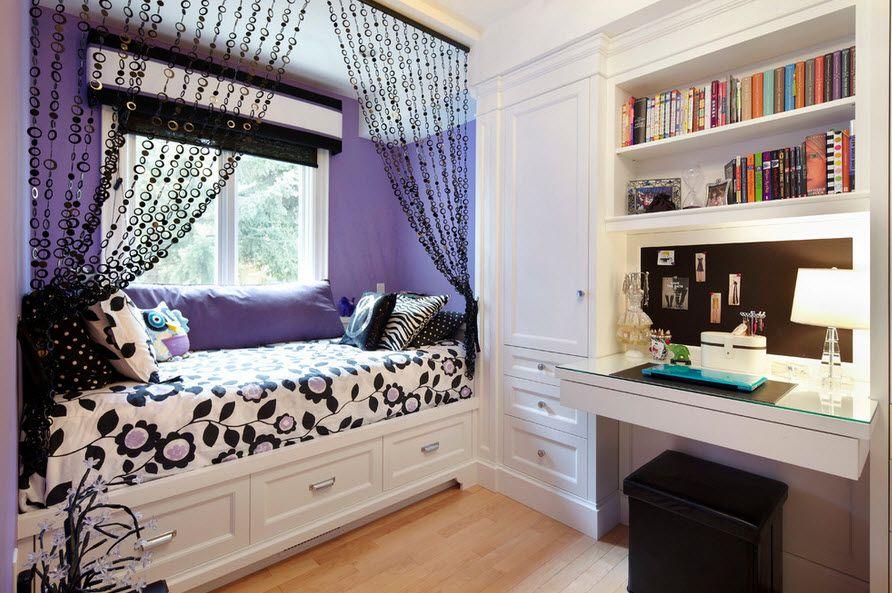 Оригинальная кровать для десткой комнаты