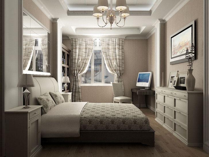 Оригинальная кровать в доме