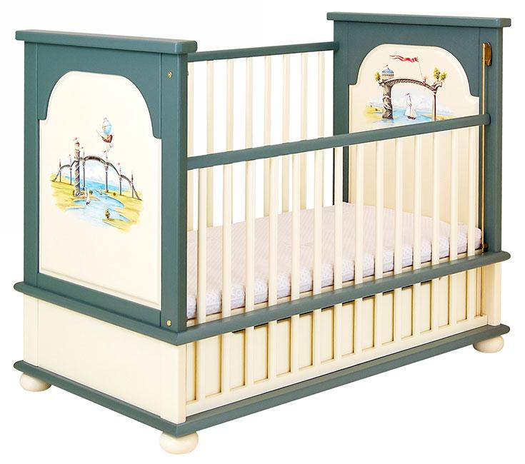 Осиная яркая кровать для ребенка