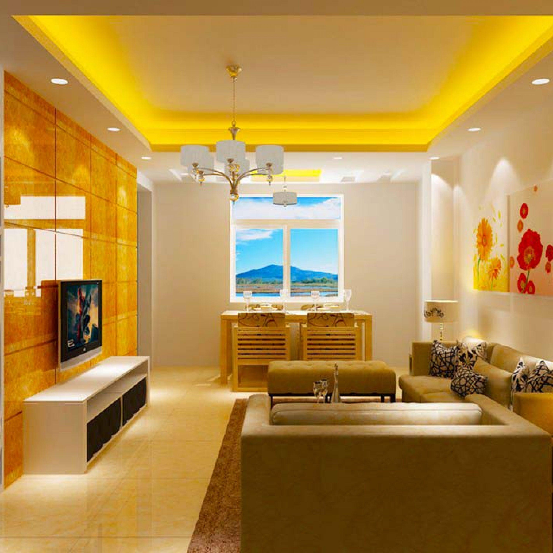 Освещение желтого цвета