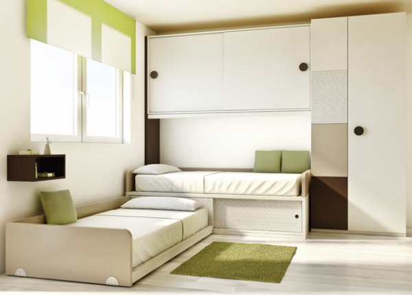 Подростковая комната в белом цвете