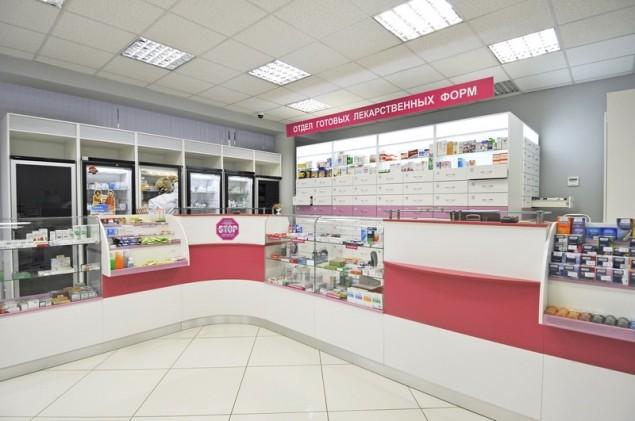 Помещение для аптеки и его дизайн