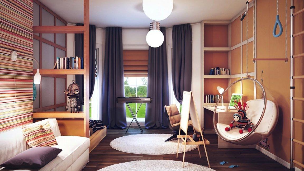 Практичное размещение современной мебели