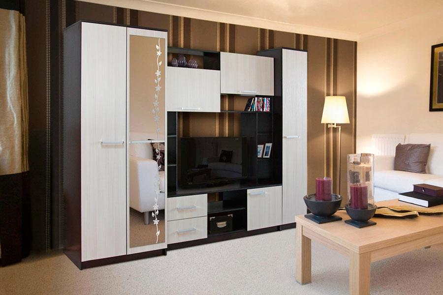 Практичные гостиные наборы мебели