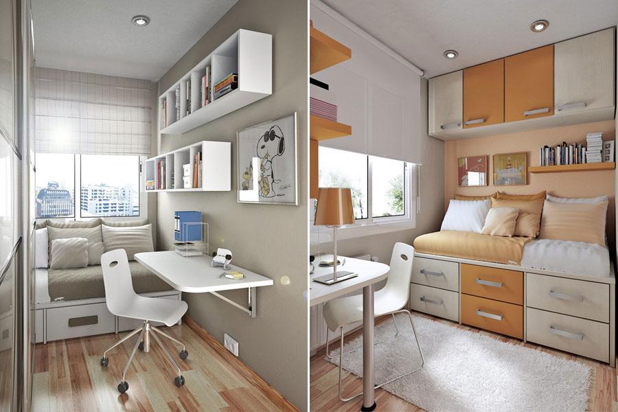 Правила расстановки мебели в небольшой комнате