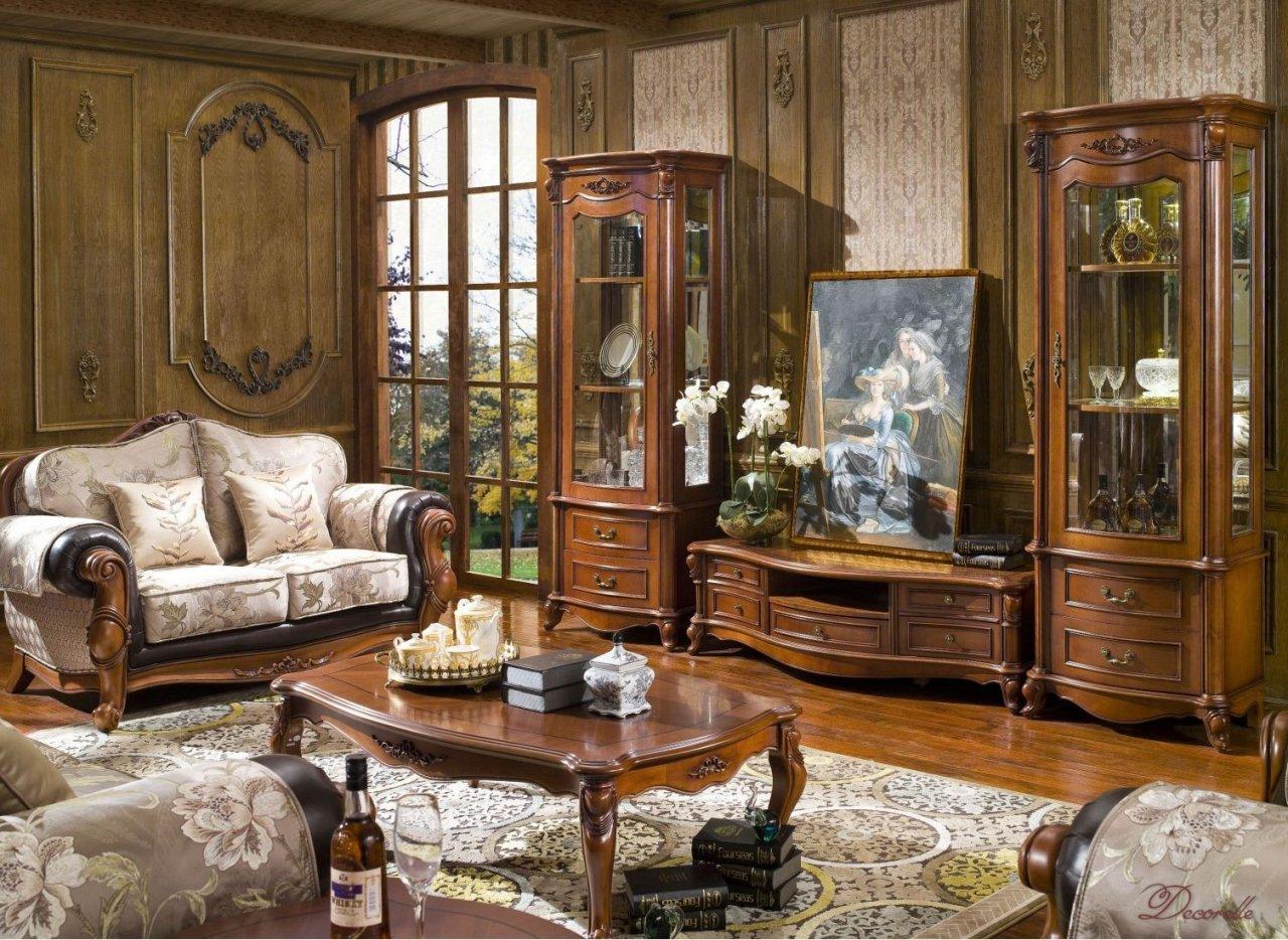 Применение мебели из натурального дерева