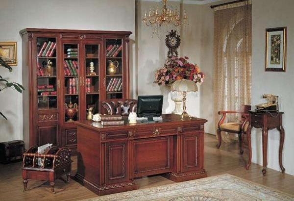 Пример красивого домашнего кабинета