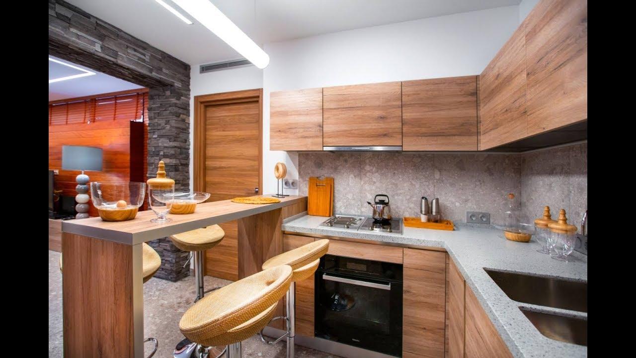 Пример удобной угловой кухни