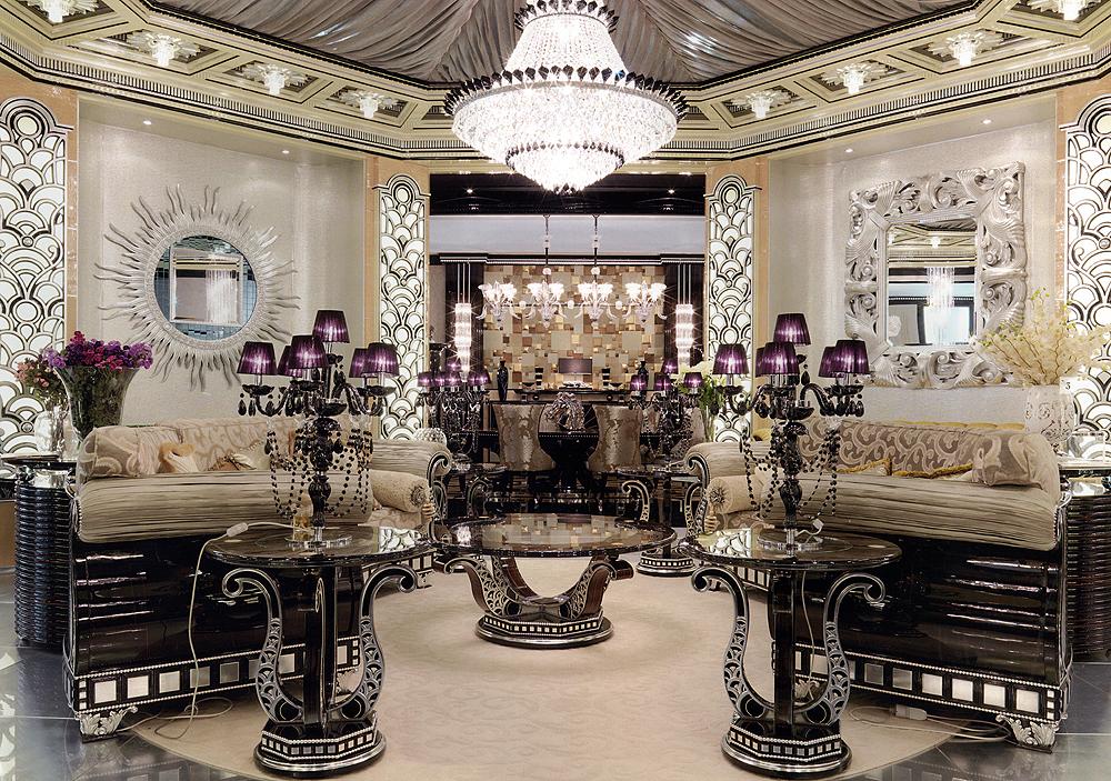 Приятная дорогая мебель для элитного интерьера
