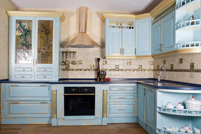 Приятный интерьер на кухне