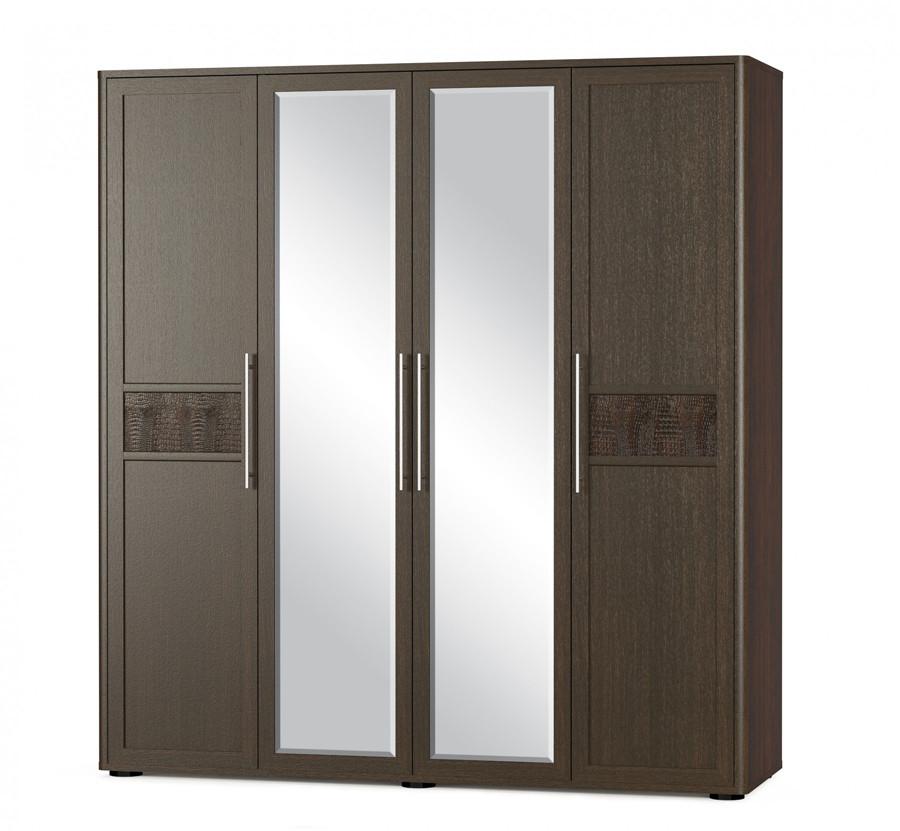Распашной шкаф на 4 двери
