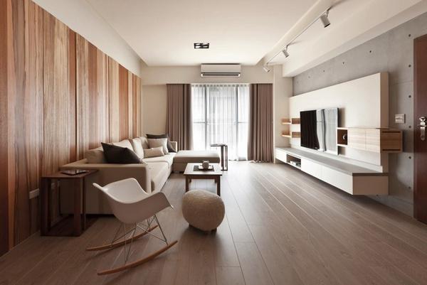 фото гостиной прямоугольной формы дизайн