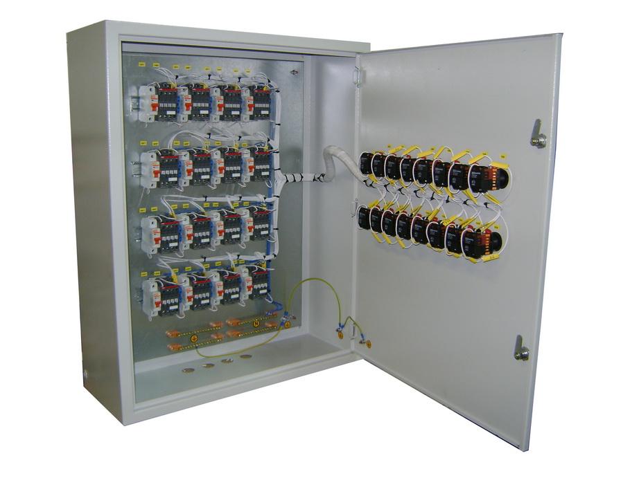 Щит управления на 16 электродвигателей