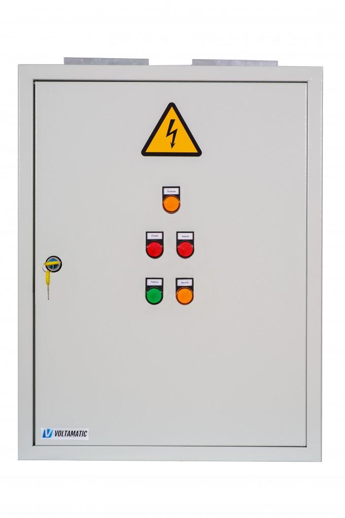 Щит управления приточной установкой с электрическим нагревом