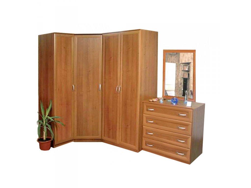 Шкафы угловые распашные, какие бывают и их основные функции.