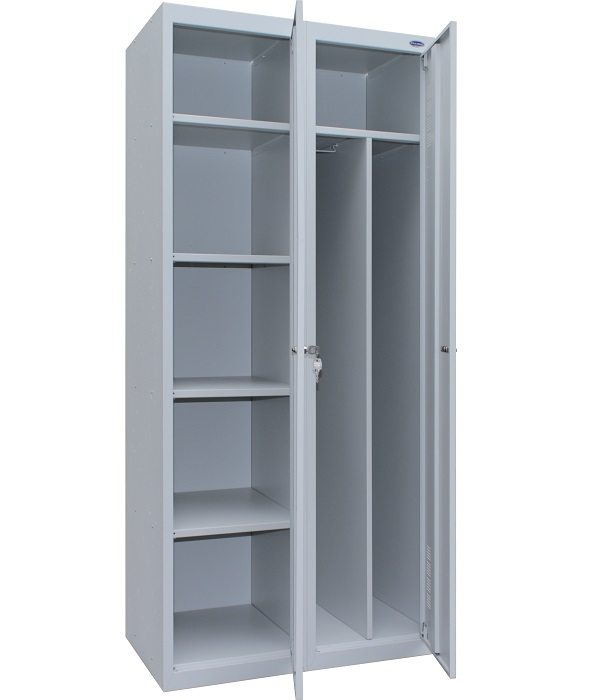 Шкафы одежные металлические