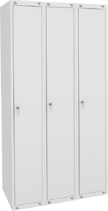 Шкаф для одежды трёхсекционный