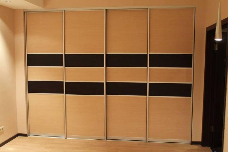 Шкаф из МДФ, декорированный под дуб