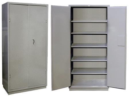 Шкаф из металла для инвентаря