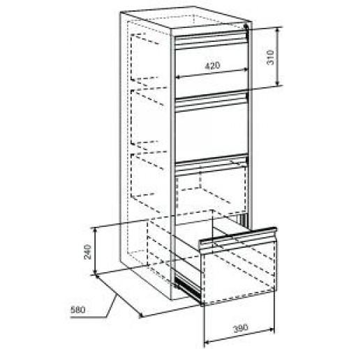 Какие бывают шкафы картотечные, правила выбора