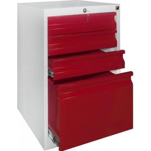Шкаф красный